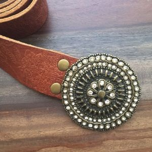 Fossil Leather Belt M